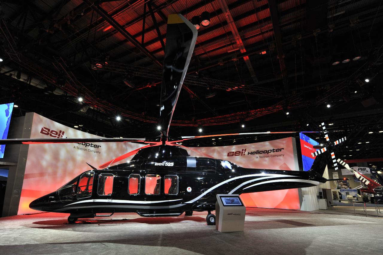 Le quatrième Bell 525 vole