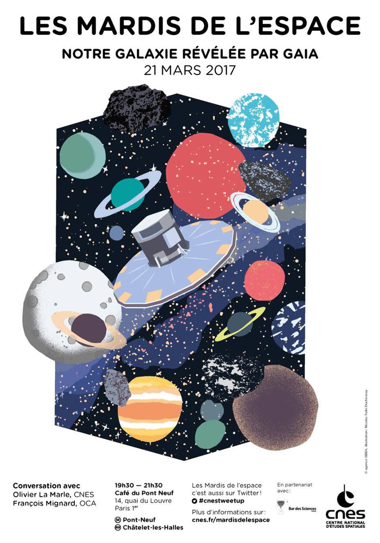 « Notre galaxie révélée par Gaia » mardi 21 mars