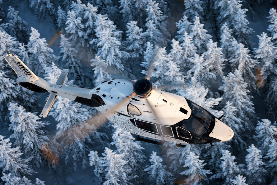Airbus H160 completes cold weather testing in Finland