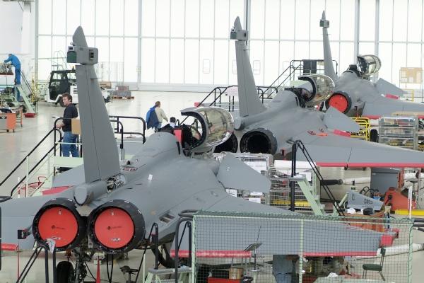 Neuf PME normandes sur le Dassault Rafale
