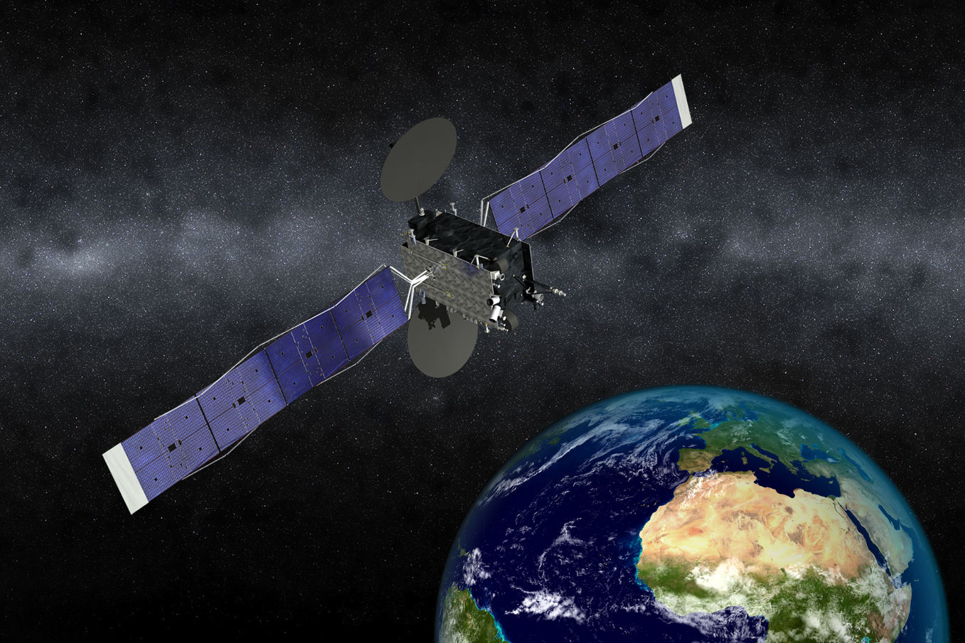 Eutelsat confie à Airbus Defence and Space et Orbital ATK son nouveau satellite 5° Ouest