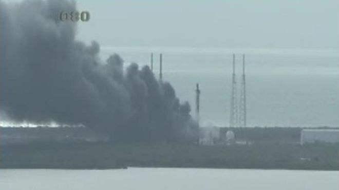 Série noire : lancement chinois probablement raté et destruction d'un Falcon 9