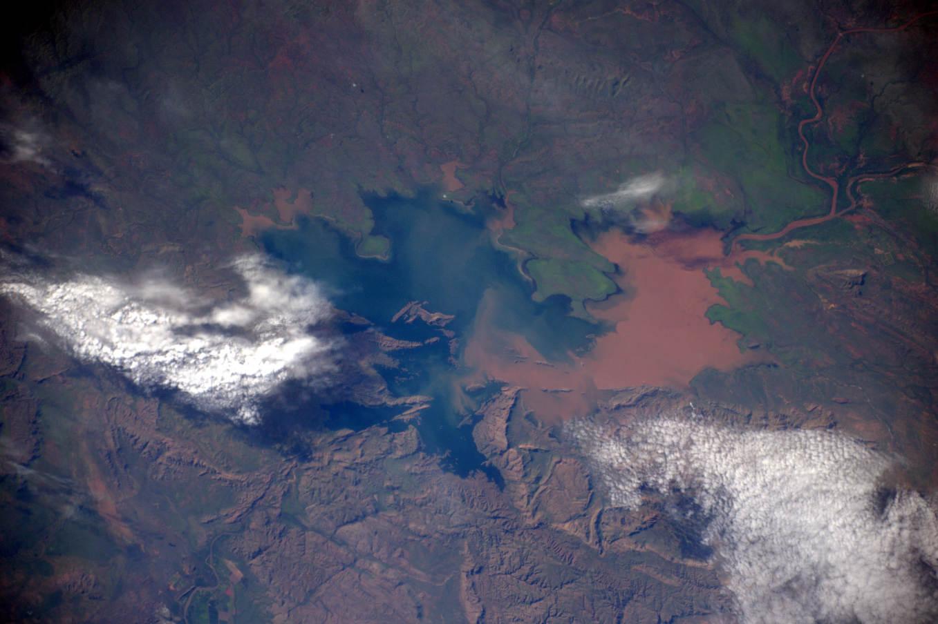 La Terre dans l'oeil de Thomas Pesquet #23 : le lac Argyle