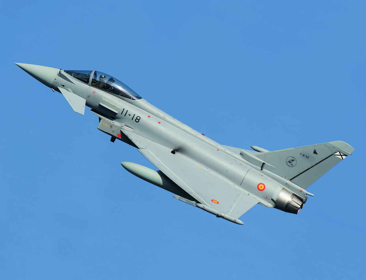 L'Espagne investit pour moderniser ses avions de combat Eurofighter Typhoon