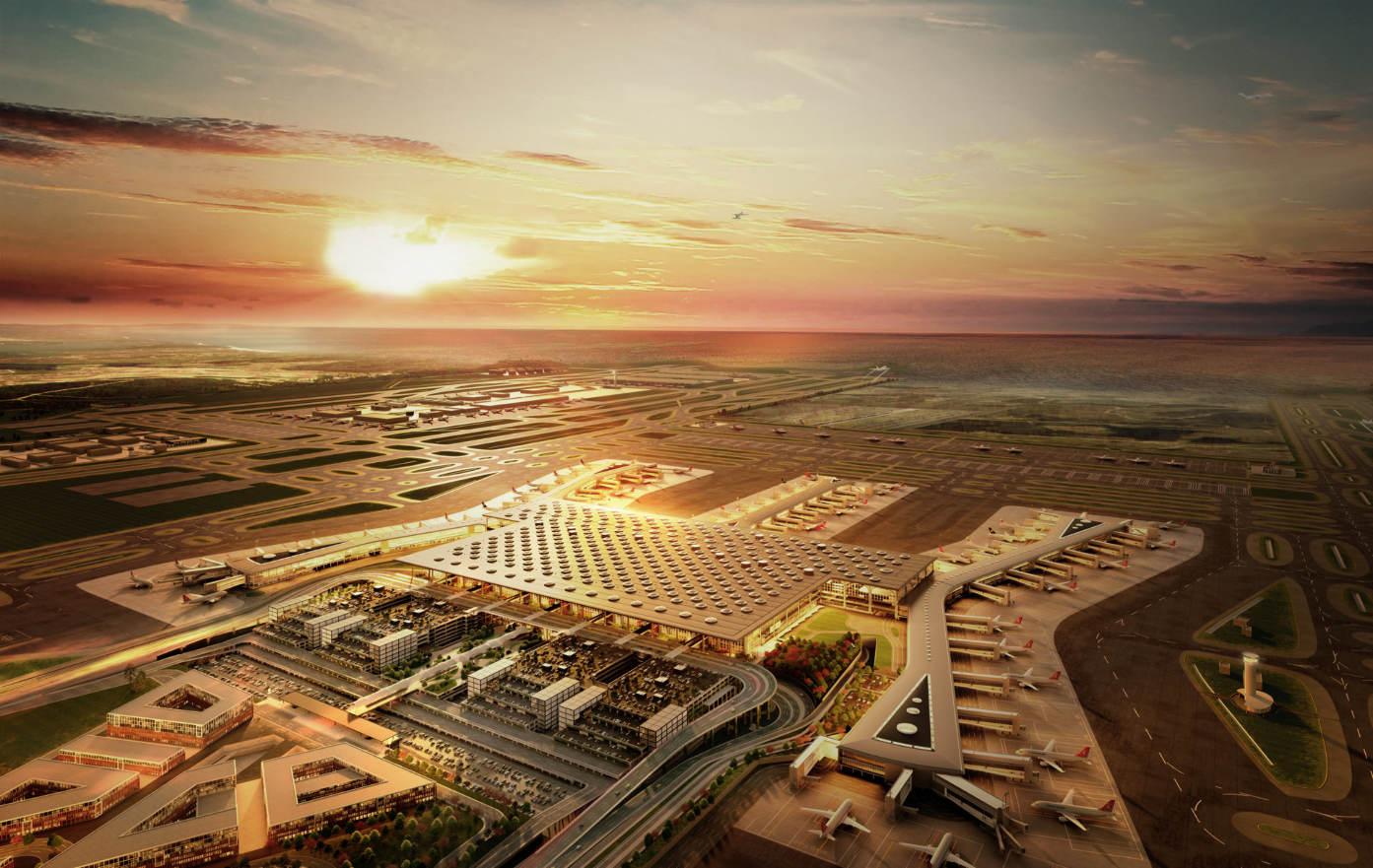 Gigantisme : le nouvel aéroport d'Istanbul a ouvert ses portes