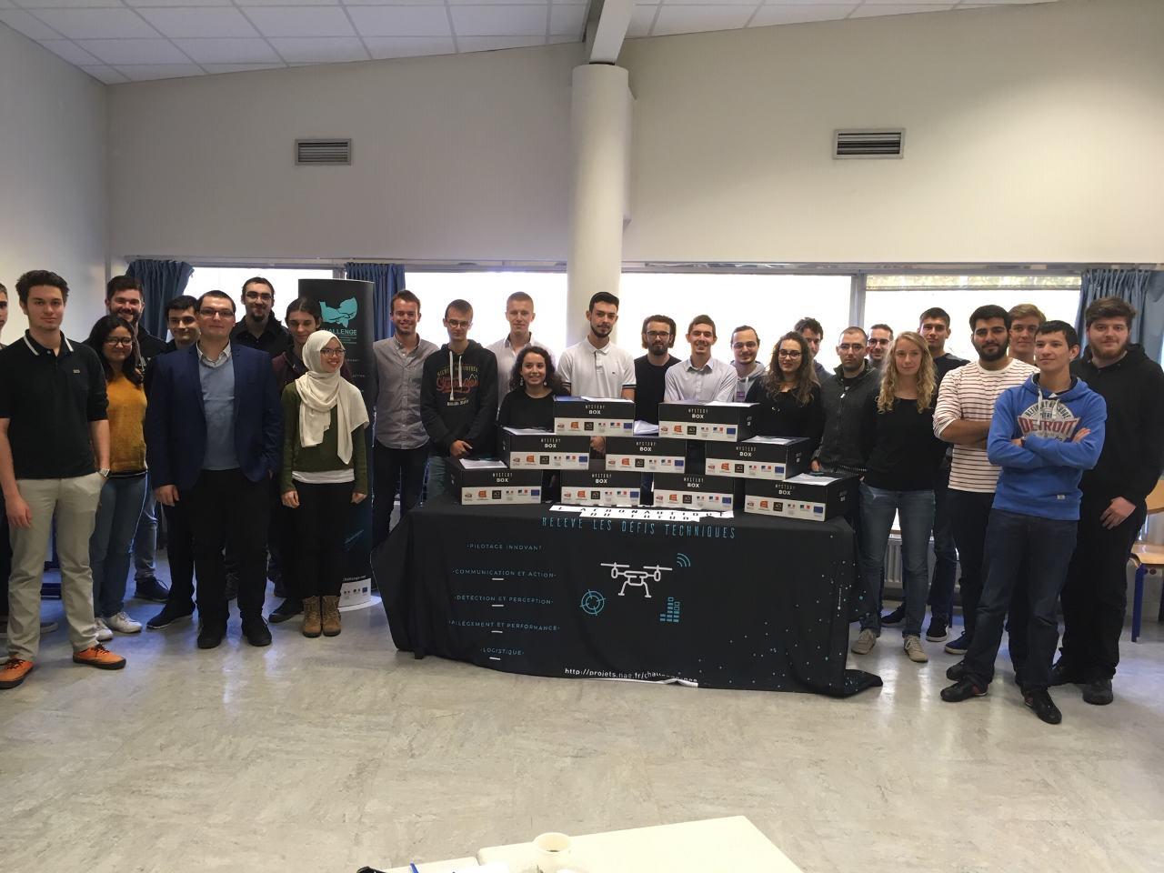 La Normandie soutient les initiatives drones des étudiants de la région