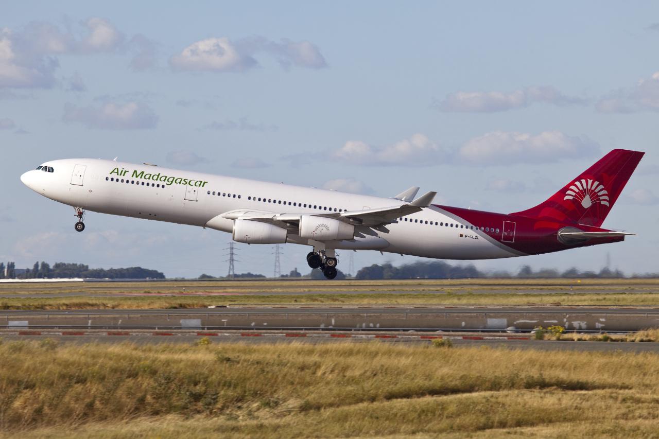 Air Madagascar retirée de l'annexe B de la liste noire européenne