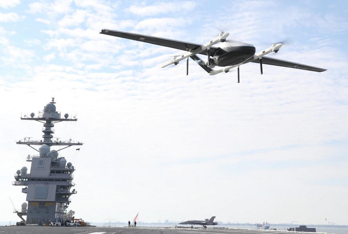 Logistique: l'US Navy s'intéresse aux drones cargo