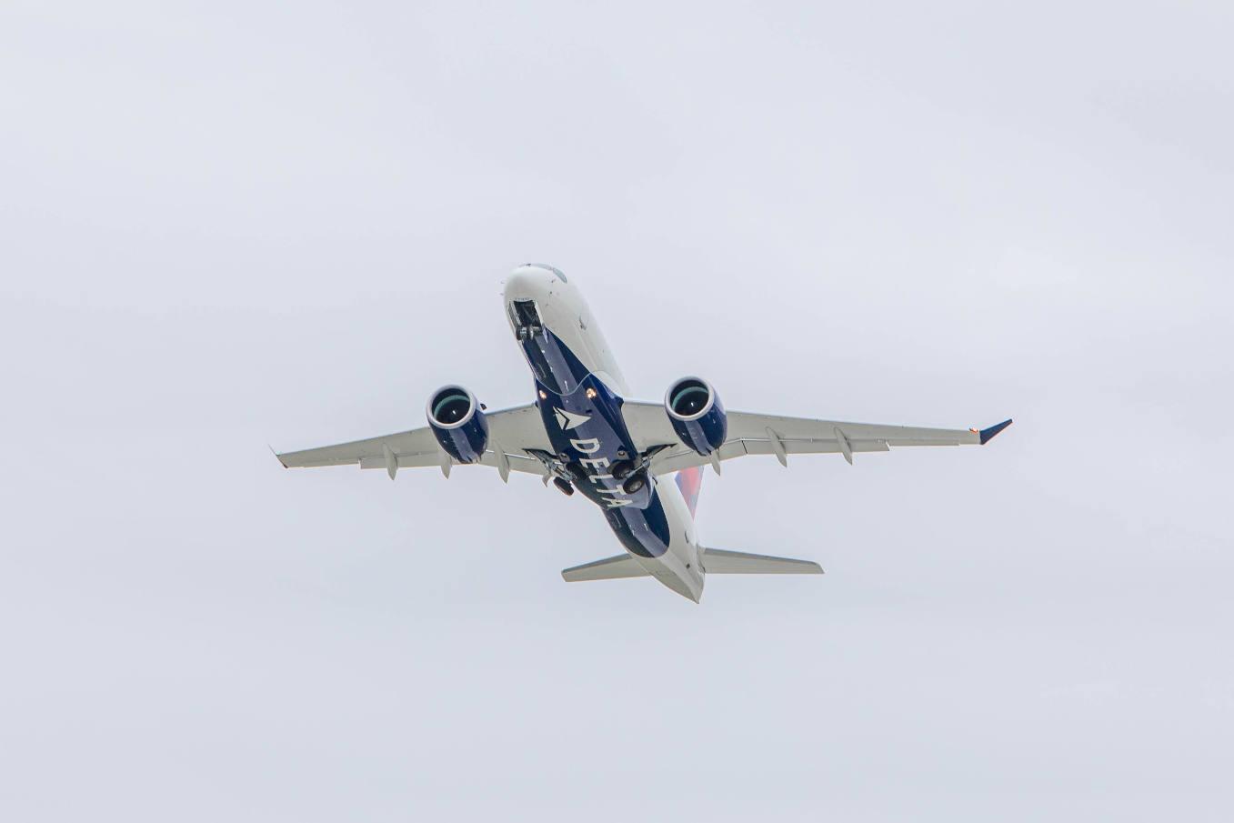 Delta lance l'Airbus A220 au départ de New York-La Guardia