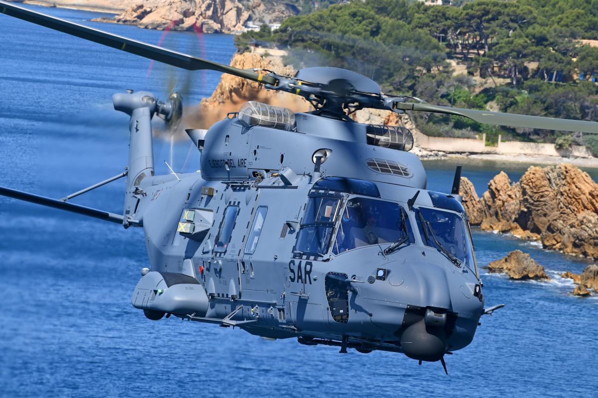 Un premier NH90 pour l'Ejercito del Aire