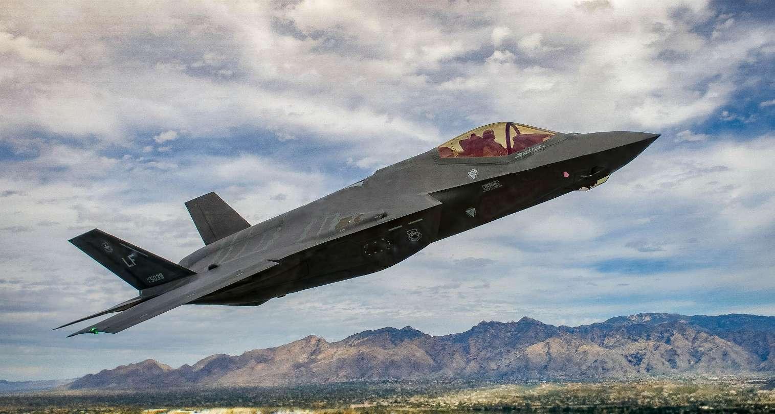 Premier Red Flag pour le F-35A