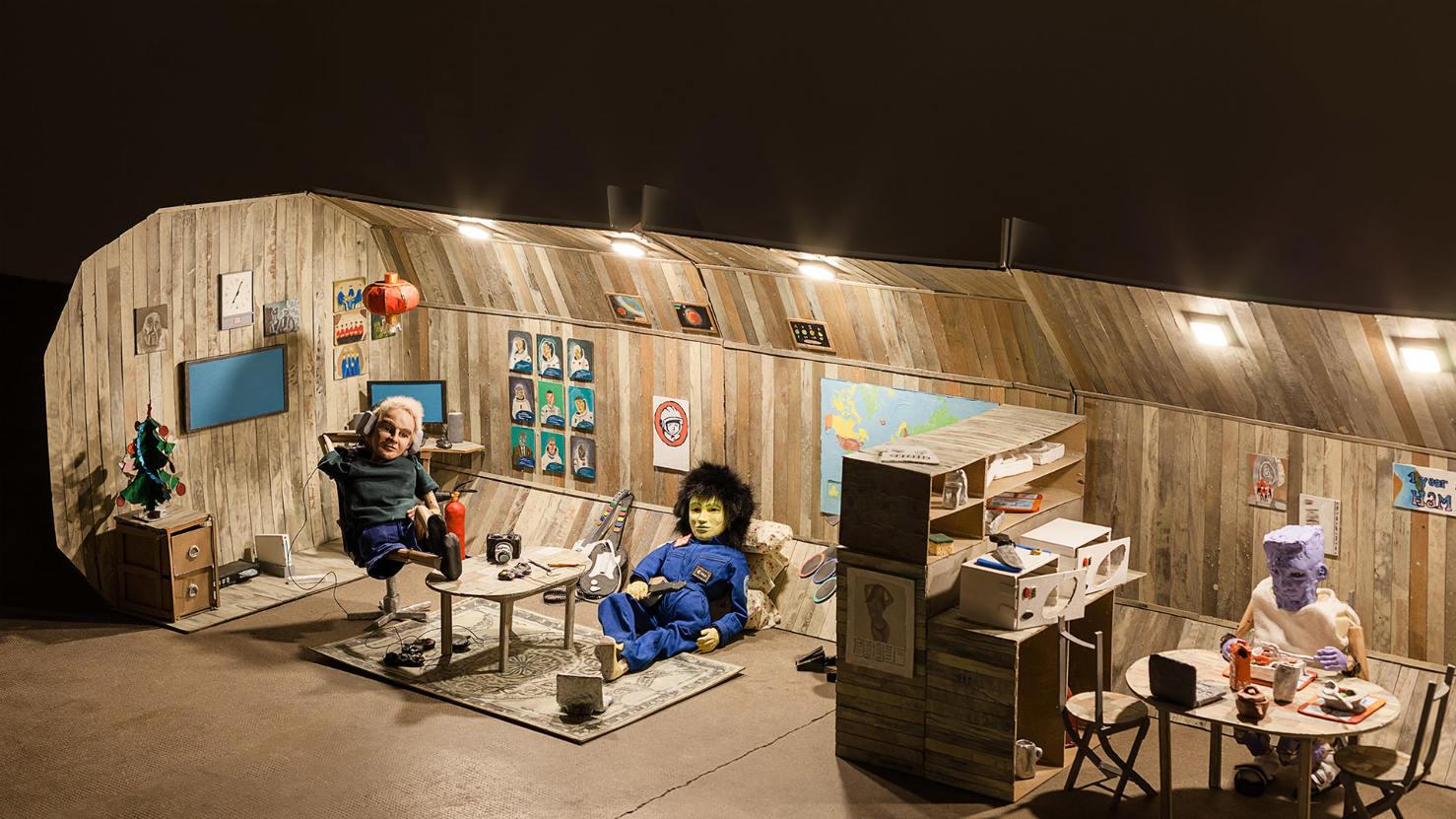 Le projet plastique et vidéo «En attendant Mars» à la Galerie Audi talents