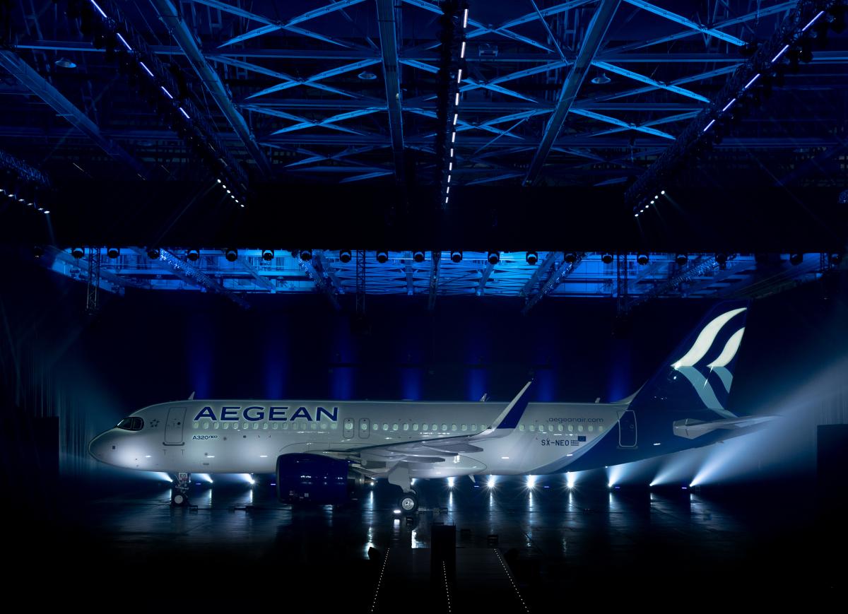 Aegean Airlines a reçu son premier A320neo