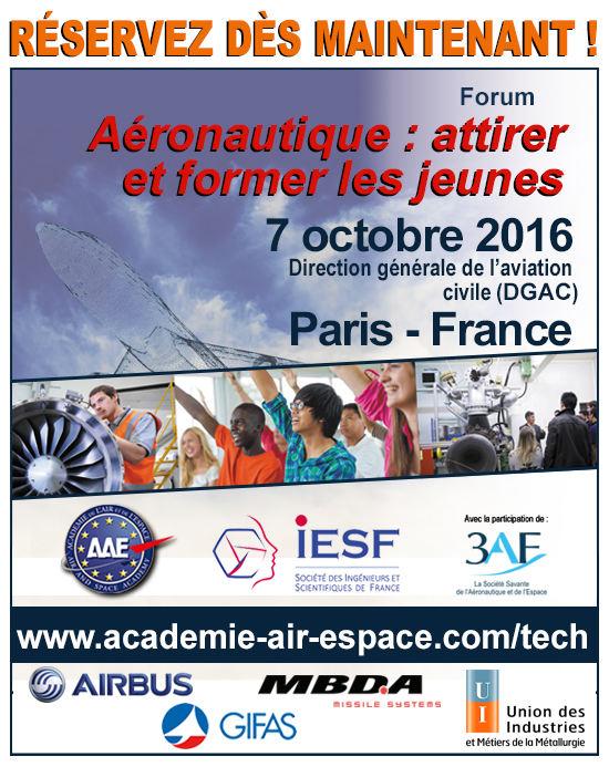 Forum aéronautique : attirer et former les jeunes
