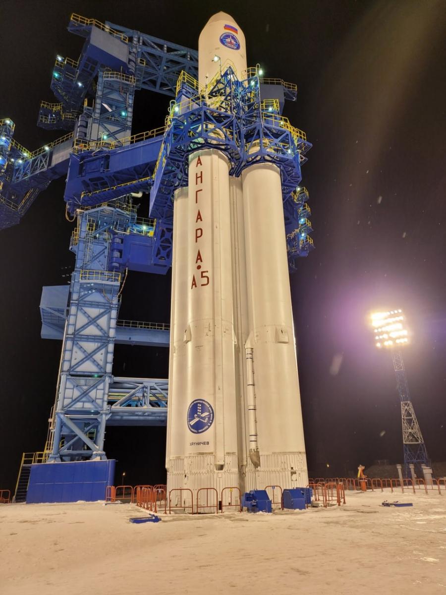 Le retour du lanceur russe lourd Angara 5