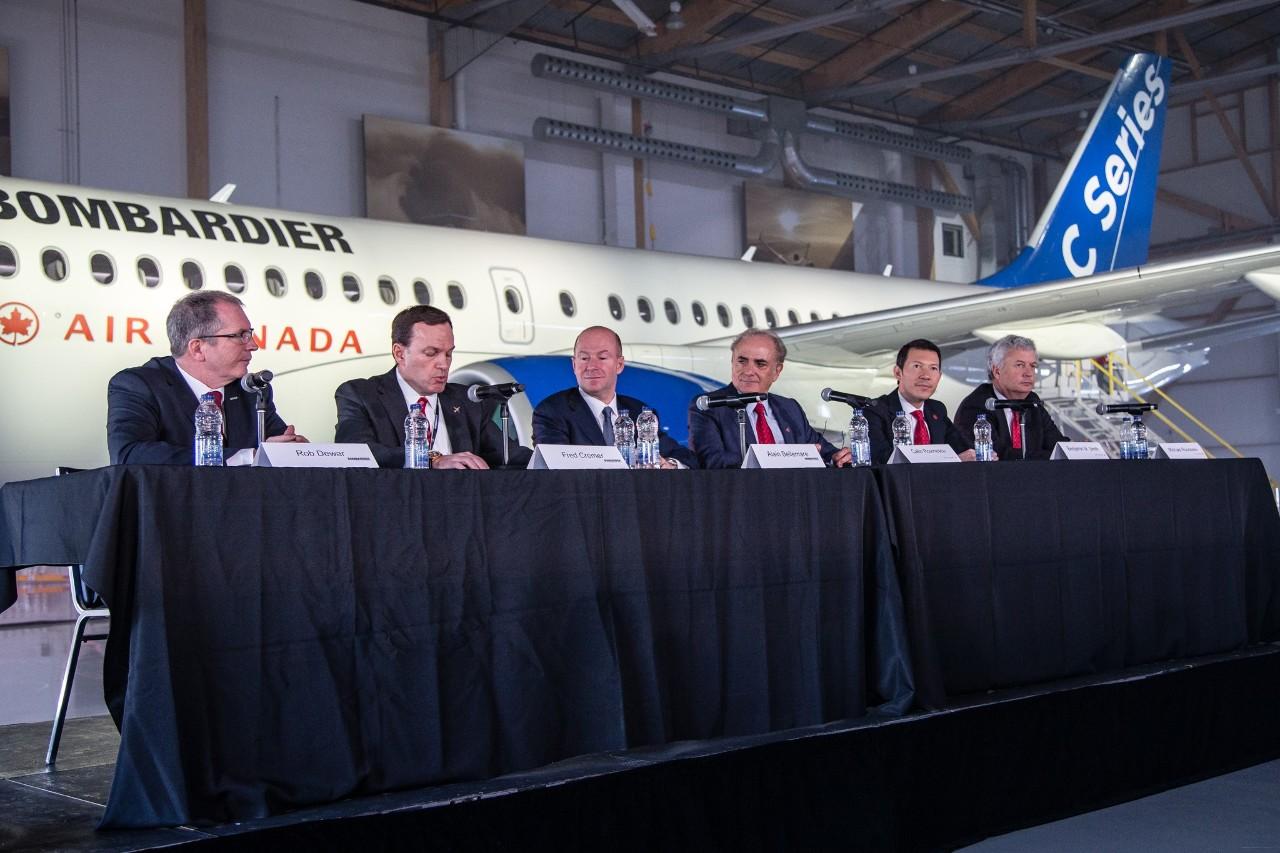 Air Canada au secours du CSeries et de Bombardier