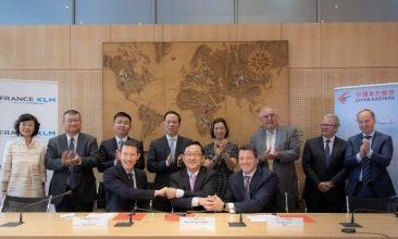 Air France-KLM et China Eastern étendent leur co-entreprise.
