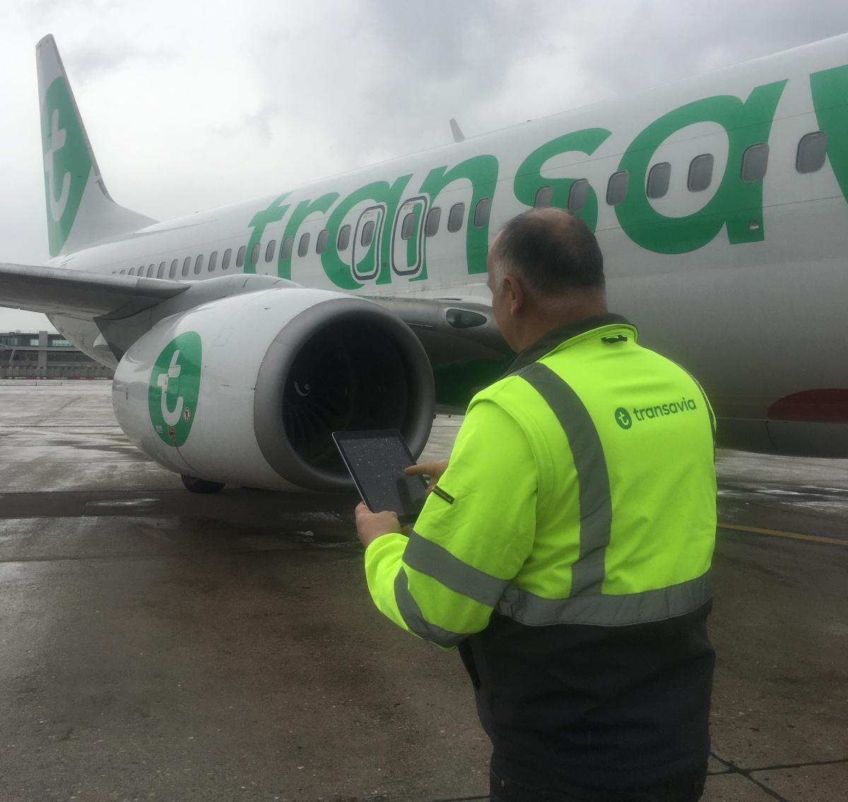 Maintenance : Transavia numérise avec eMobility