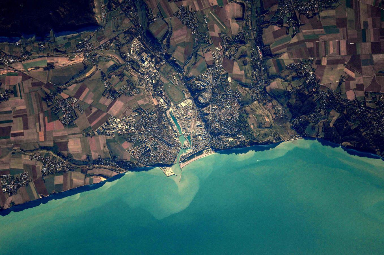 La Terre dans l'oeil de Thomas Pesquet #3 : Dieppe