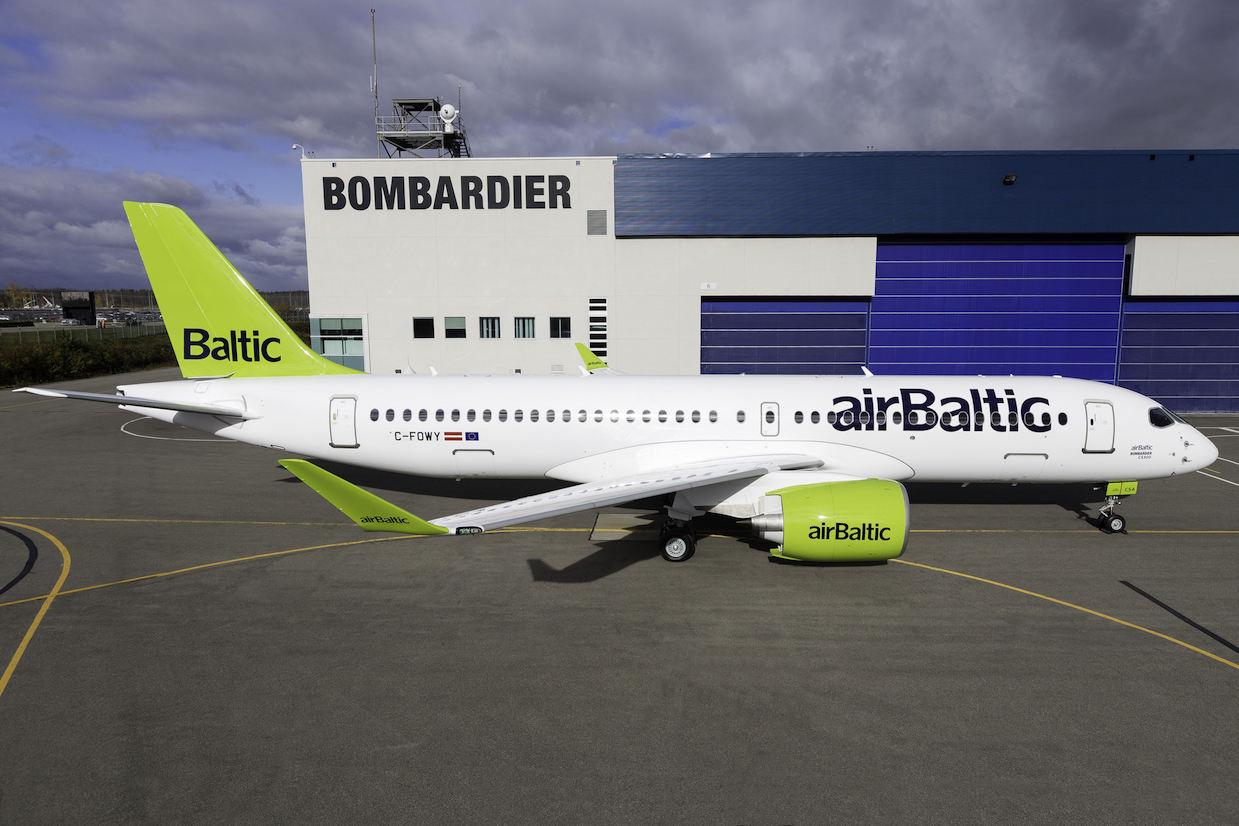 airBaltic mettra en service le Bombardier CSeries CS300 le 14 décembre