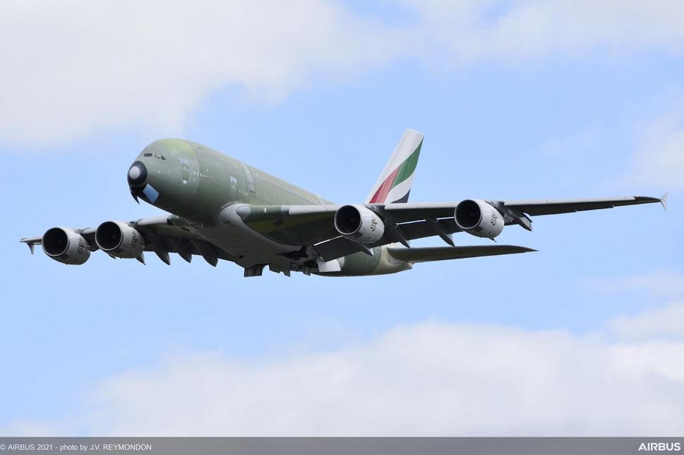 Le dernier Airbus A380 a quitté Toulouse
