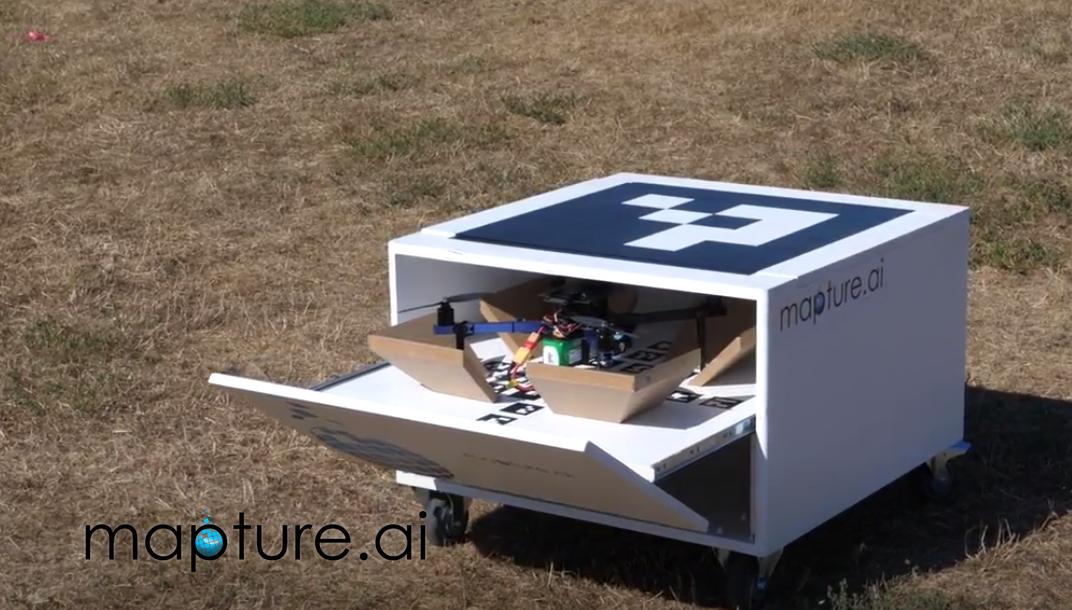Mapture.ai présente son drone combiné à l'intelligence artificielle