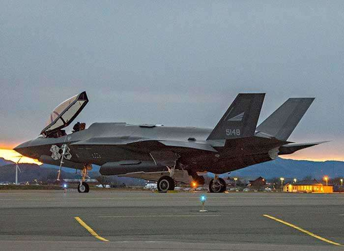 La Norvège réceptionne ses trois premiers F-35