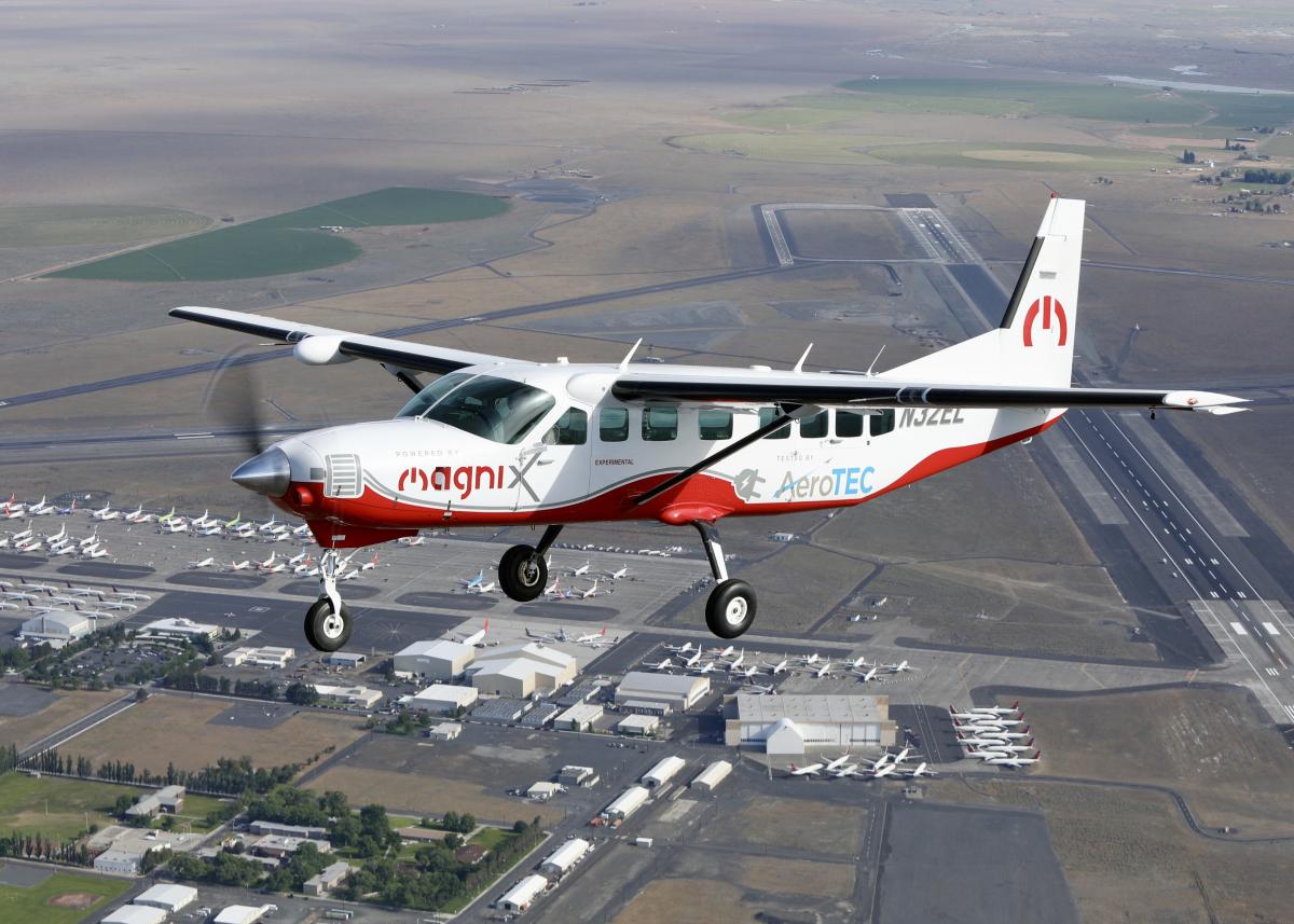 Magnix passe au Cessna Caravan électrique