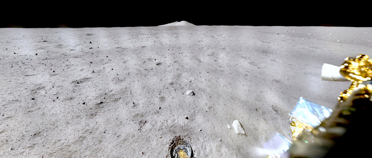 Panorama souvenir de la sonde lunaire chinoise Chang'E 5