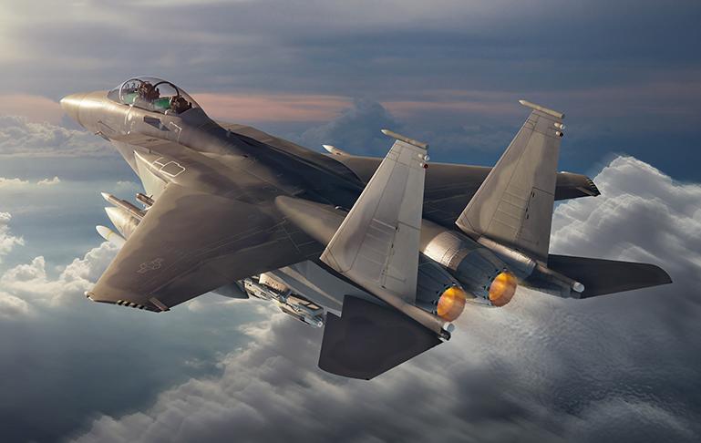 Boeing présente le F-15EX