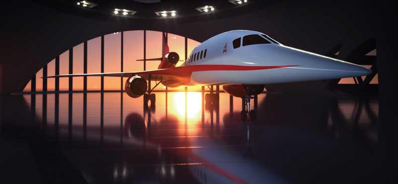 Supersonique : la fin du projet Aerion AS2