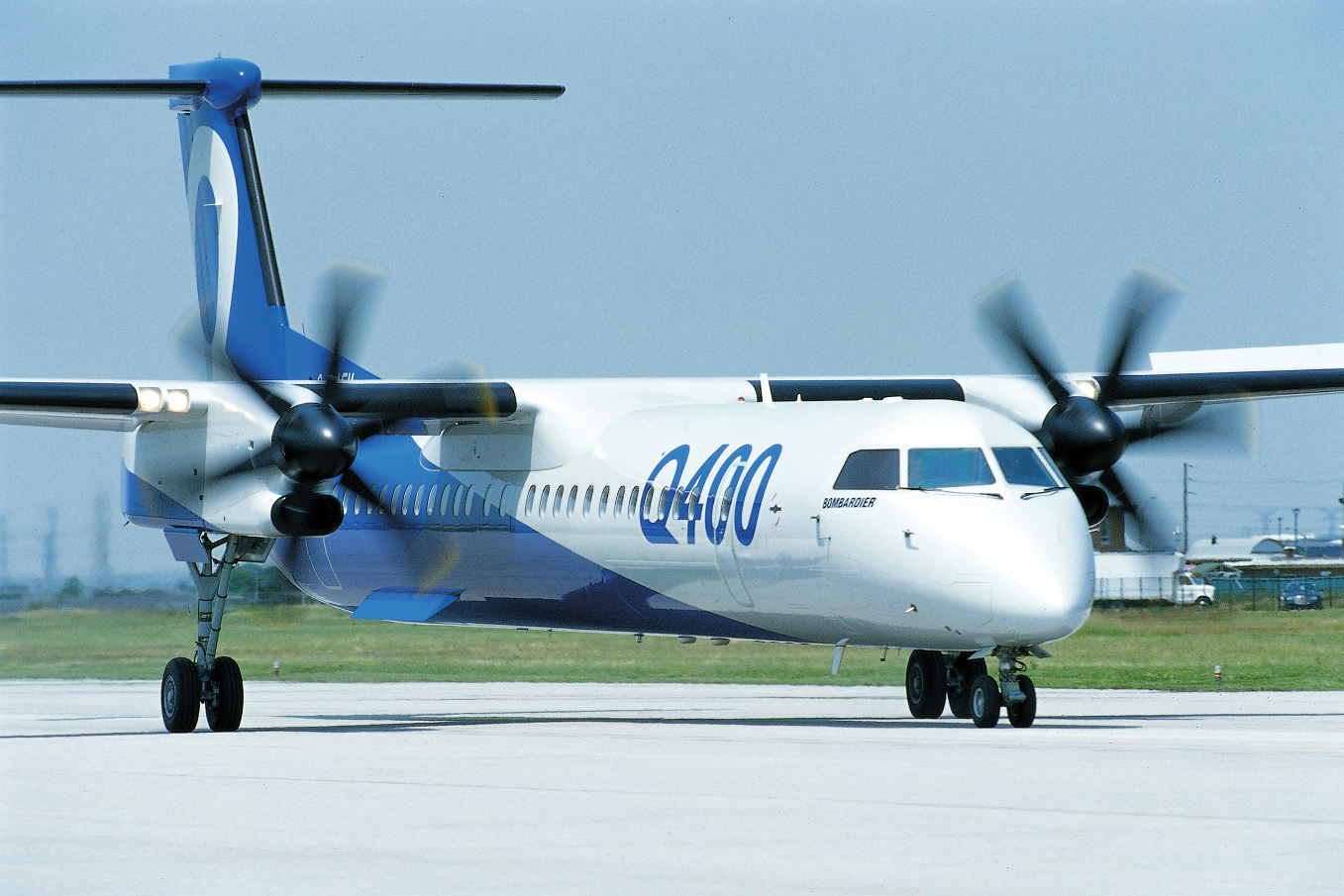 Viking Air reprend les Bombardier Q400