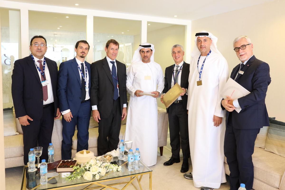 Dubai Airshow 2019: partenariat entre Leonardo et IGG
