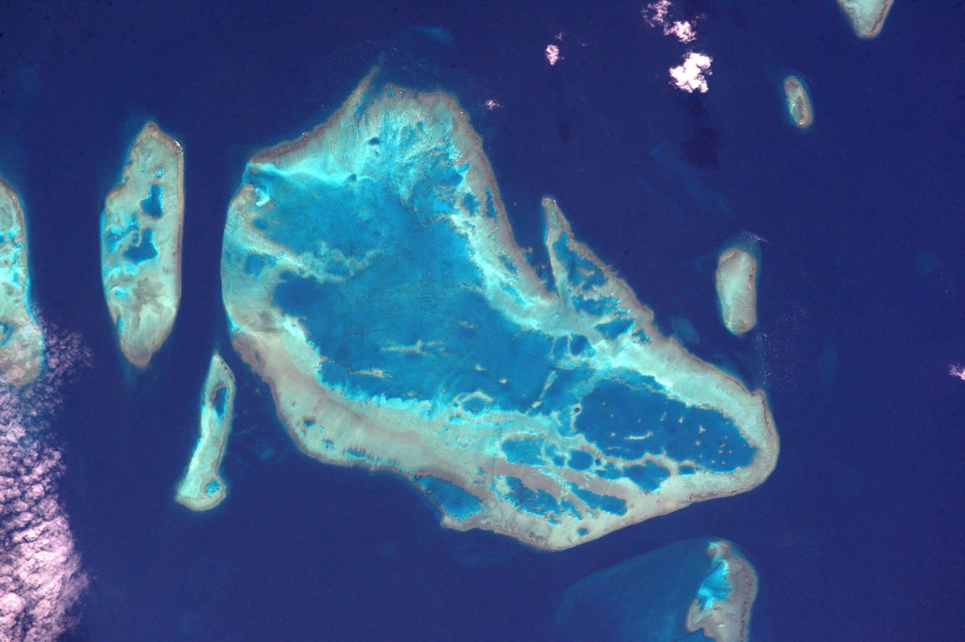La Terre dans l'oeil de Thomas Pesquet #71 : la mer de Corail