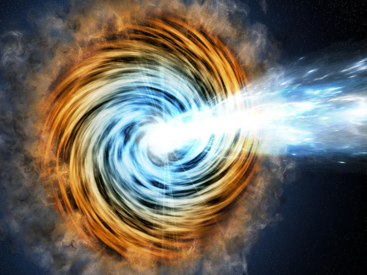 Le télescope Fermi décèle les blazars les plus distants de l'Univers