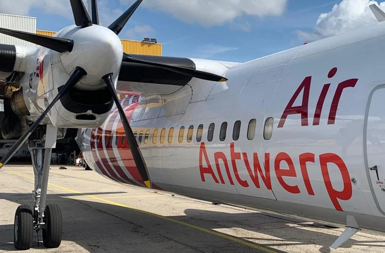 Premier vol pour Air Antwerp