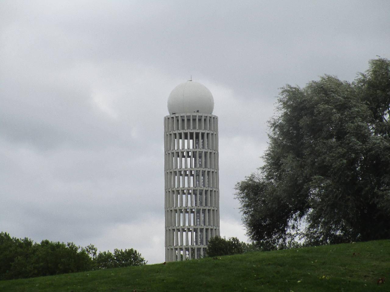 Le nouveau radar de l'aviation civile à Palaiseau a été inauguré
