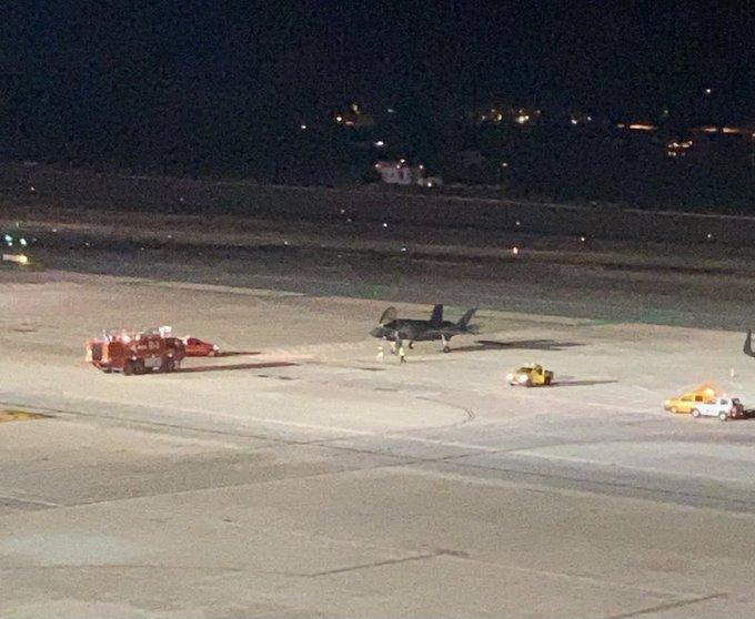 Atterrissage d'urgence d'un F-35B à Ibiza