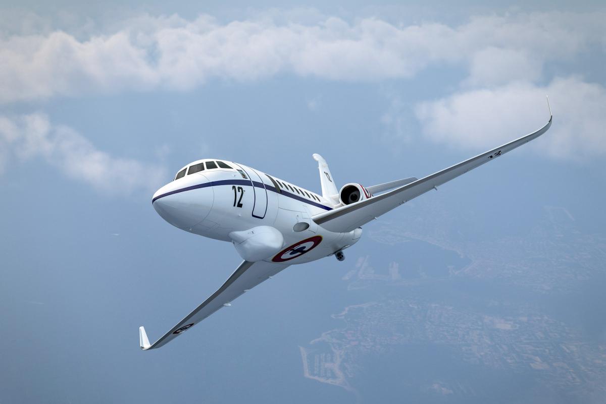 Comment la Marine va moderniser ses yeux sur Dassault Falcon 50M et équiper l'Albatros