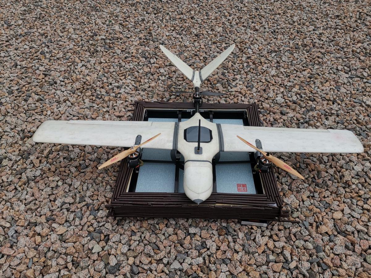 Heisha présente son drone VTOL