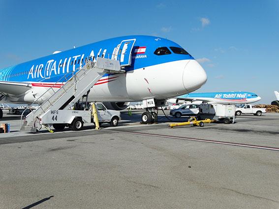 Air Tahiti Nui : Le Boeing 787-9 entre en piste