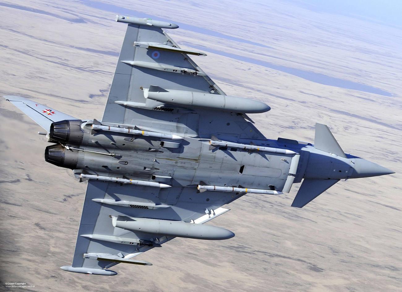 Les Typhoon britanniques déployés en Asie