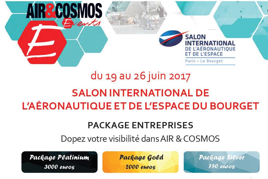 Venez au Salon du Bourget avec Air et Cosmos Magazine