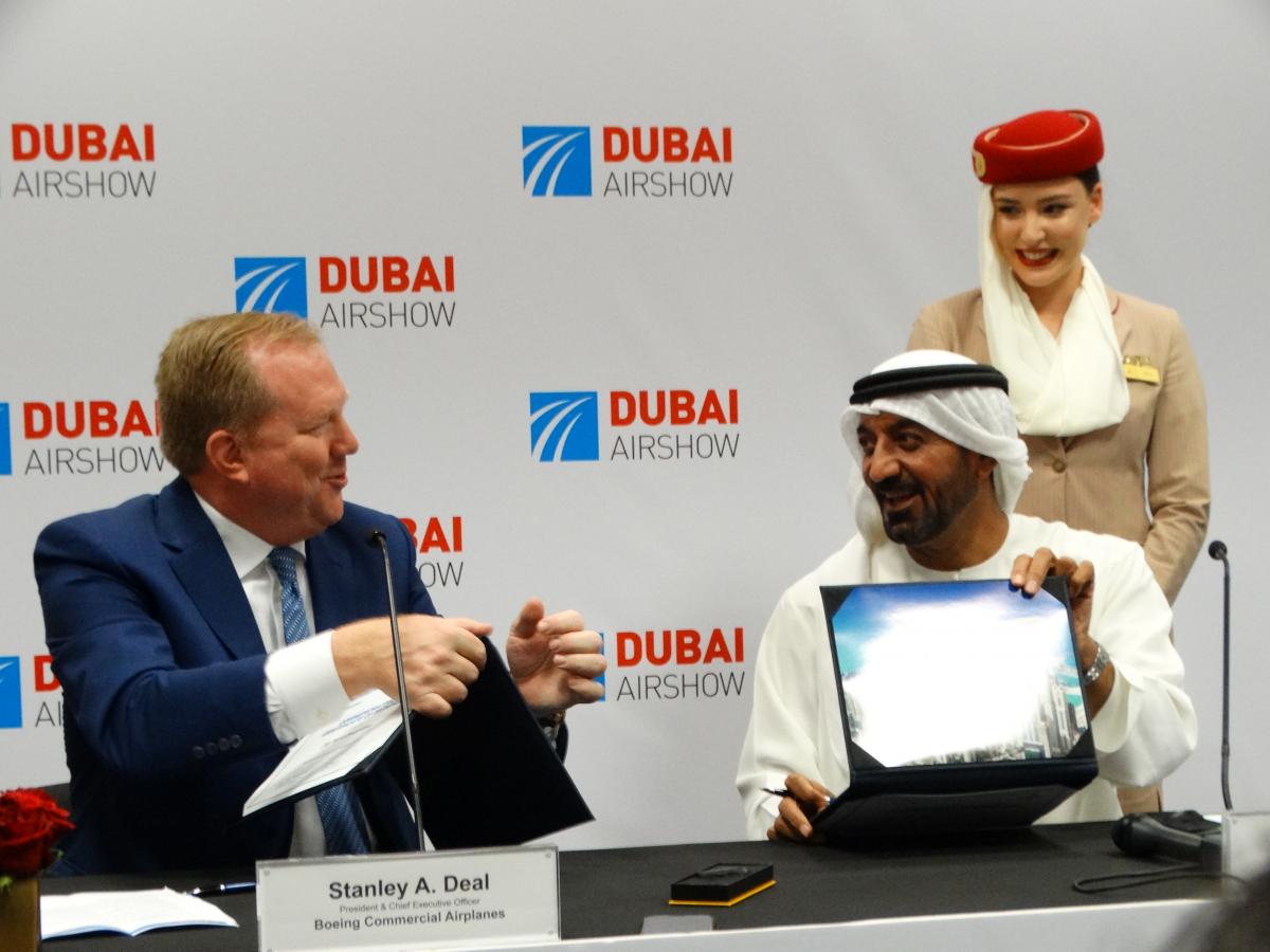 Dubai Airshow 2019 : Emirates confirme une commande de 30 Boeing 787-9