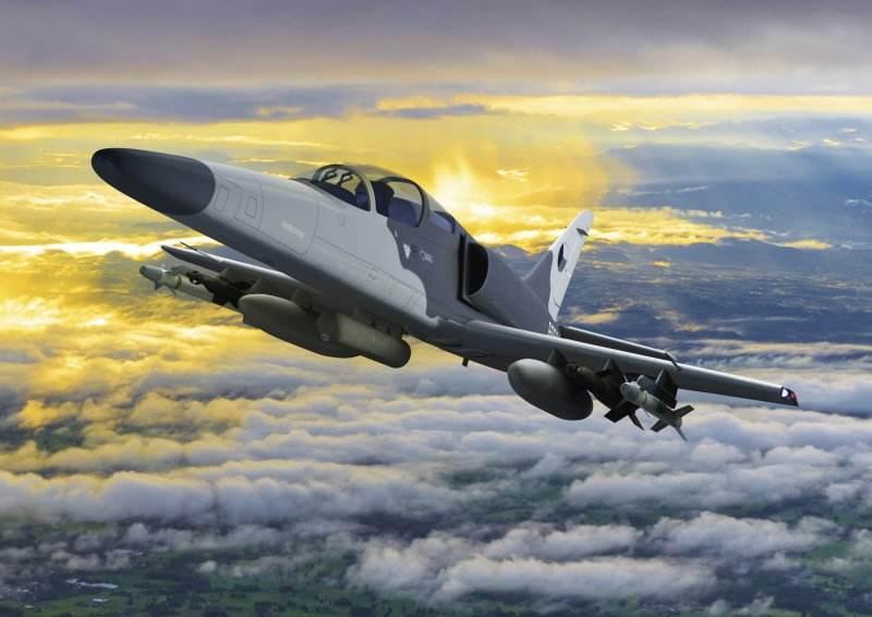 Aero Vodochody et Israel Aerospace Industries présentent l'avion de combat F/A-259 Striker
