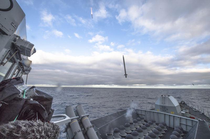 Royal Navy completes Sea Ceptor firing trials