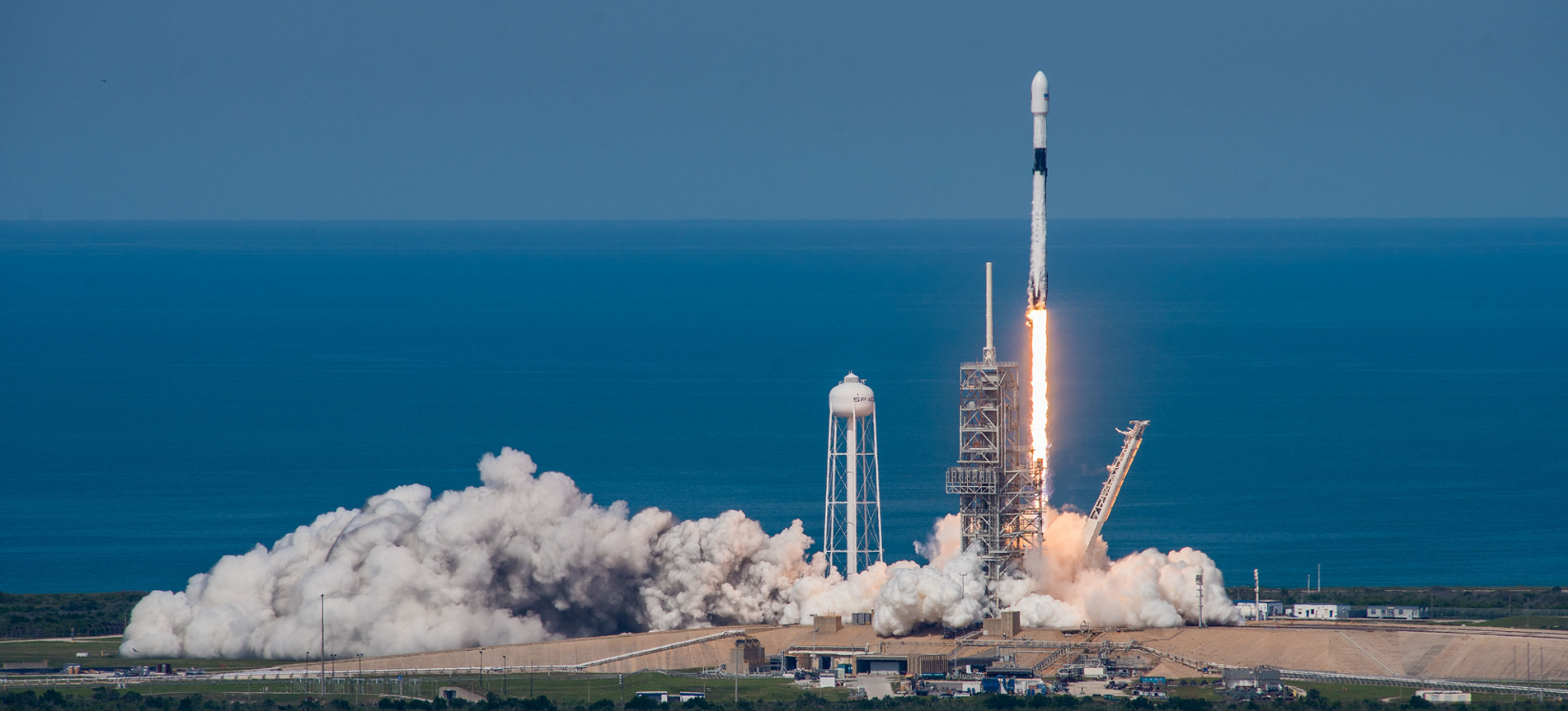 Upgraded Falcon 9 launches satellite for Bangladesh