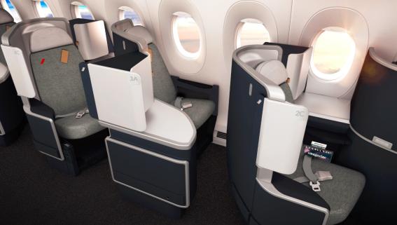 Caraïbes-Océan Indien : Air France donne un coup de jeune à ses cabines