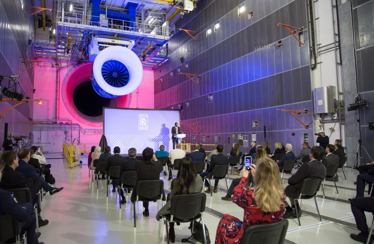 Rolls-Royce inaugure son banc d'essai du futur