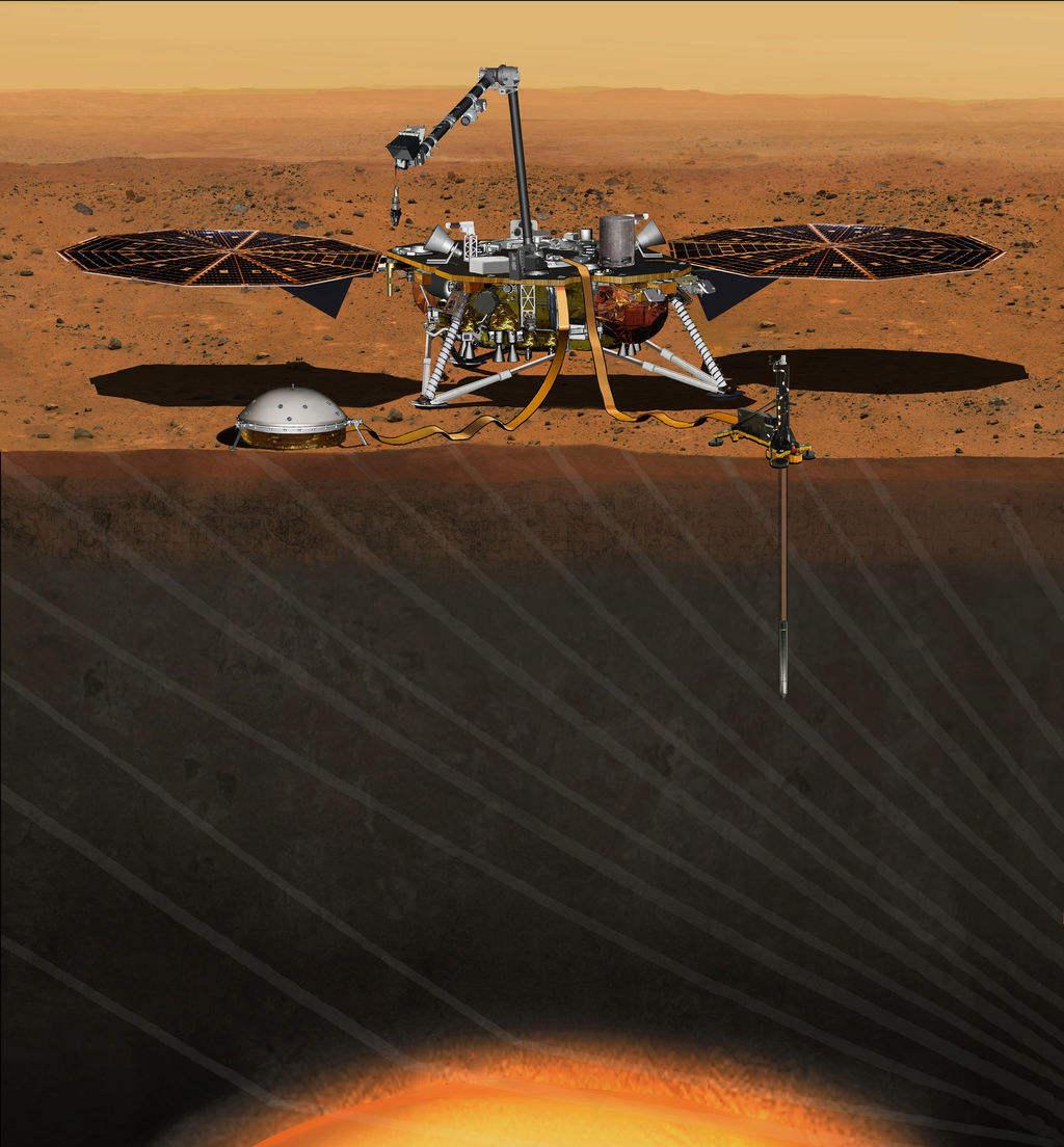 InSight lander on its way to Mars